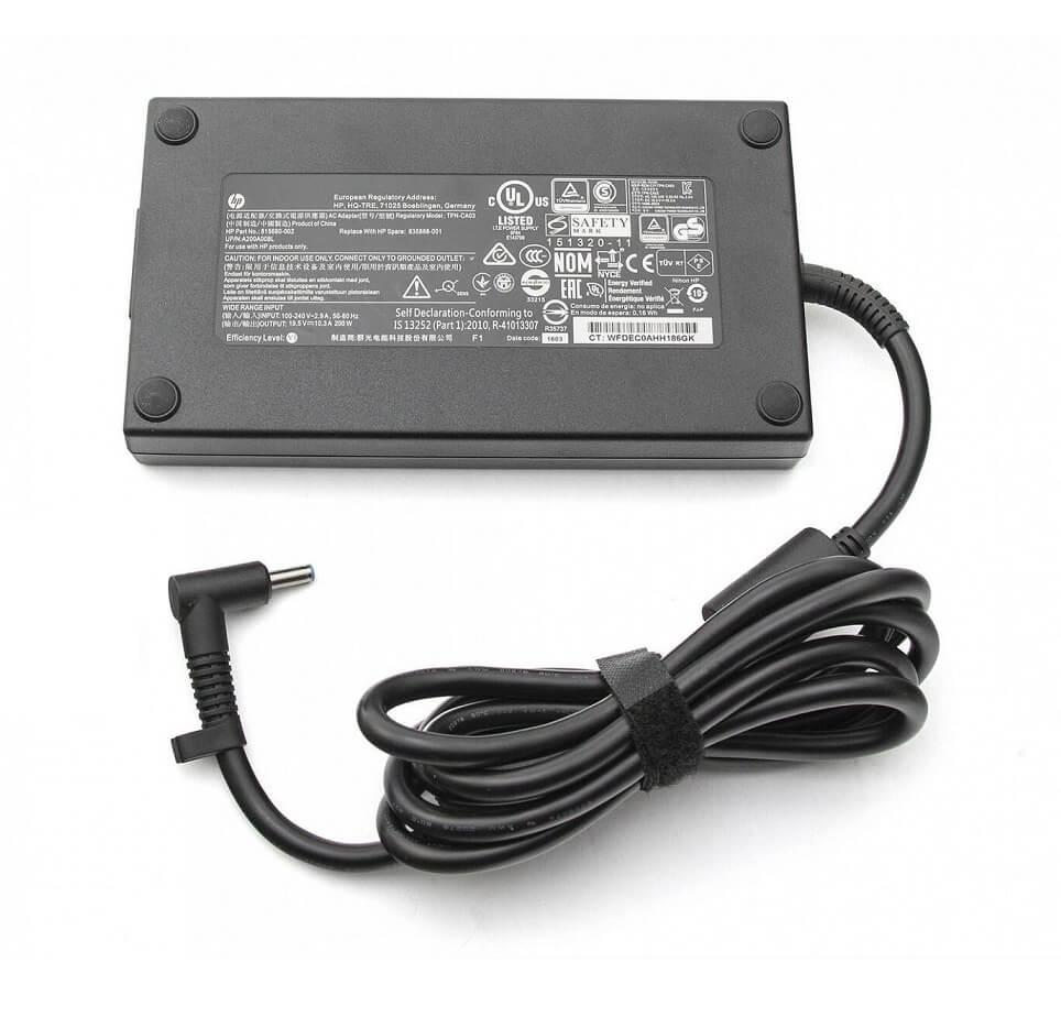 зарядное устройство для HP ZBook 17 G3, G4, G5, OMEN 15-ce, Pavilion 15-cx, 15-dp series HP TPN-DA10, L00818-850, L00895-003, ADP-200HB B