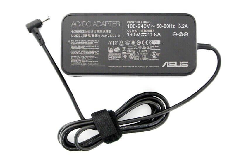 блок питания Asus 19.5v 11.8a 6.0x3.7 ADP-230GB B для ноутбука Asus UX581GV, TUF FX505DV, ROG GA502IV, GX501V, GM501G, GX502G, GU502g, ROG Strix G531G, G731G, GL504G, GX701GX/V/W, GL704G, StudioBook 15/17